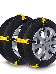 Недорогие -10 шт. Автомобиль Снежные цепи Деловые Тип пряжки For Автомобильное колесо For Универсальный Все модели Все года
