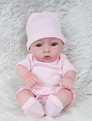 Недорогие -NPKCOLLECTION Куклы реборн Девочки 12 дюймовый Полный силикон для тела Силикон - Новорожденный как живой Экологичные Подарок Ручная работа Безопасно для детей Детские Универсальные / Девочки Игрушки