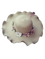 cheap -Women's Basic / Holiday Straw Hat / Sun Hat - Floral
