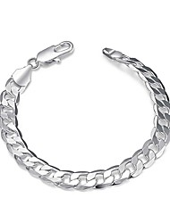 cheap -Geometric Chain Bracelet - Simple, Cool Bracelet Silver For Daily / Work
