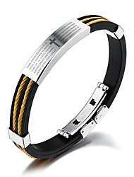 baratos -Bracelete - Fashion Pulseiras Dourado / Prata Para Presente / Diário