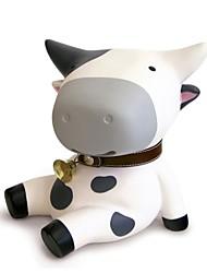 cheap -Piggy Bank / Money Bank Cow / Cartoon Cute PVC (Polyvinylchlorid) 1pcs Kid's / Teenager Gift