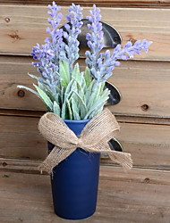 cheap -Artificial Flowers 1 Branch Stylish / Rustic Lavender Tabletop Flower