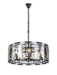 Недорогие -хрустальная люстра окружающий свет окрашенные отделки металлический кристалл 110-120v / 220-240v теплая белая лампа в комплекте