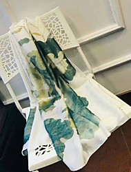 Недорогие -Свежий стиль Пляжное полотенце, Живопись Рисунок Высшее качество Others Вискоза / полиэфир Жаккардовое плетение 1pcs