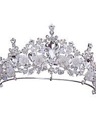cheap -Alloy Tiaras / Headpiece with Acrylic / Faux Pearl 1pc Wedding / Special Occasion Headpiece