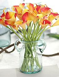 cheap -Artificial Flowers 8 Branch Stylish / Rustic Calla Lily / Eternal Flower Tabletop Flower