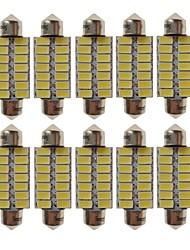 baratos -SENCART T10 Carro Lâmpadas 7W SMD 5730 420lm 12 Lâmpadas LED Iluminação interior For Universal Todos os Anos