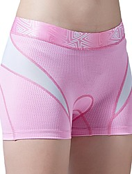cheap -SANTIC Women's Cycling Under Shorts Bike Shorts / Padded Shorts / Chamois / Underwear Shorts Breathable, Comfortable, Sweat-wicking