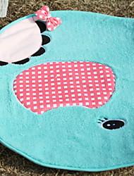 Недорогие -Коврики На каждый день Хлопко-полимерная смешанная ткань, Прямоугольный Высшее качество плед