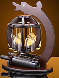 abordables -Casiers à Bouteilles Bois, Du vin Accessoires Haute qualité Créatif for Barware Multifonction / Facile à Utiliser 1pc