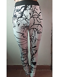 baratos -Mulheres Calças de Trilha Ao ar livre Respirabilidade, Elasticidade Alta Calças Exercicio Exterior / Multi-Esporte