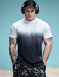 abordables -Tee-shirt Homme, Arc-en-ciel Actif / Basique