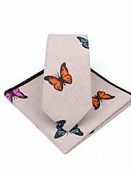 abordables -Unisex Corbata - Fiesta / Trabajo Estampado Mariposa