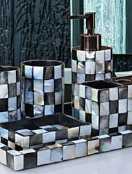 cheap -Bathroom Accessory Set New Design / Creative Modern Resin 6pcs - Bathroom Single