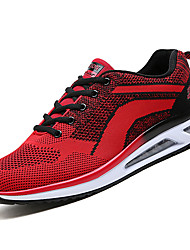cheap -Men's Canvas Summer Comfort Athletic Shoes Walking Shoes Light Grey / Blue / Black / Red