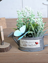 cheap -Artificial Flowers 1 Branch Classic Vintage / Pastoral Style Lavender Tabletop Flower