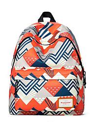 cheap -Women's Bags Polyester School Bag Pattern / Print Red