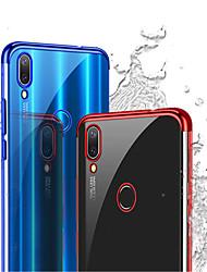 billiga -fodral Till Huawei P20 Pro / P20 lite Plätering Skal Enfärgad Mjukt TPU för Huawei P20 / Huawei P20 Pro / Huawei P20 lite / P10 Lite / P10