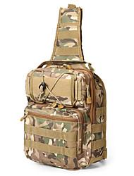 levne -5 L Batohy / Taška přes rameno / Sling tašky přes rameno - Rychleschnoucí, Nositelný Turistika, Kempink Nylon Kamufláž