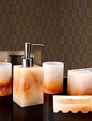 Недорогие -Набор аксессуаров для ванной Градиент цвета Modern Резина 5 шт. - Ванная комната Односпальный комплект (Ш 150 x Д 200 см)