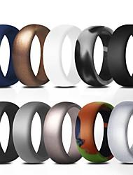 billiga -Ringar / Silikonringar Med 10 pcs Silikon Mjuk För Herr Motion & Fitness / Gym