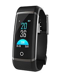 abordables -Pulsera inteligente YY-Z19C para Android 4.3 y superior / iOS 7 y superior Monitor de Pulso Cardiaco / Impermeable / Medición de la Presión Sanguínea / Calorías Quemadas / Standby Largo Podómetro