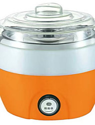 baratos -Yogurt Maker Novo Design / Total Automático Aço Inoxidável / ABS Máquina de iogurte 220 V 15 W Utensílio de cozinha