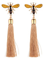 cheap -Women's Long Drop Earrings - Bee Vintage, Cartoon, Fashion Gold For Wedding / Party / Evening
