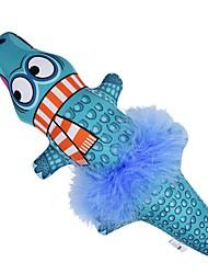povoljno -Mačja trava / Plišane igrače / Squeaking Toys Pet Friendly / Cartoon Toy Tekstil / Tkanina s ekstraktom mačje metvice / Pamuk Za Mačke