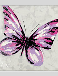 economico -Hang-Dipinto ad olio Dipinta a mano - Natura morta Modern Tela