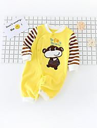 お買い得  -赤ちゃん 女の子 プリント 長袖 オーバーオール&ジャンプスーツ
