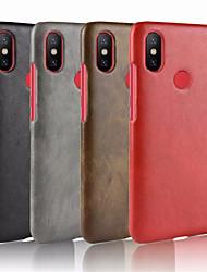 economico -Custodia Per Xiaomi Redmi S2 Decorazioni in rilievo Per retro Tinta unita Resistente pelle sintetica per Xiaomi Redmi S2