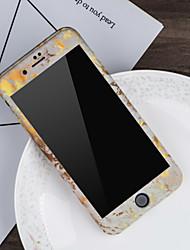 お買い得  -ケース 用途 Apple iPhone X / iPhone 8 パターン フルボディーケース マーブル ハード PC のために iPhone X / iPhone 8 Plus / iPhone 8