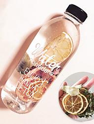 Недорогие -Drinkware Пластик Бутылки для воды / Бутылка спорта Подруга Gift / Милые 1 pcs