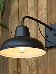 cheap -Cool Retro / Vintage Wall Lamps & Sconces Outdoor / Garden Metal Wall Light 220-240V 40 W
