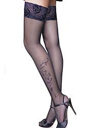 cheap -Women's Thin Stockings - Jacquard
