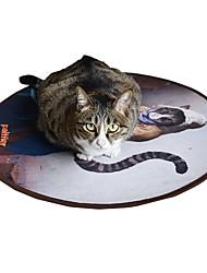 Недорогие -Плюшевые игрушки / Кровати / Other Подходит для домашних животных / Мультфильм игрушки / Без отдушек Ткань Назначение Коты