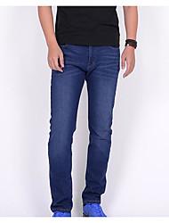 economico -Per uomo Essenziale Jeans Pantaloni - Tinta unita