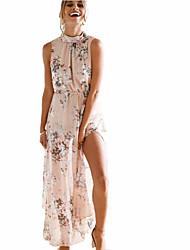 preiswerte -Damen Chiffon Kleid Maxi