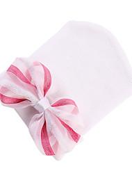 Недорогие -Ребёнок до года Универсальные Милая Повседневные Бант Хлопок Головные уборы Белый / Розовый / Цвет радуги Один размер / Банданы