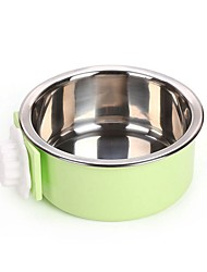 cheap -2 L L Dogs / Rabbits / Furry Small Pets Bowls & Water Bottles / Feeders / Food Storage Pet Bowls & Feeding Portable / Case Included Green / Blue / Pink