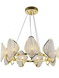 cheap -QIHengZhaoMing 9-Light Crystal Chandelier Ambient Light 110-120V / 220-240V, Warm White, Bulb Included / G9 / 15-20㎡