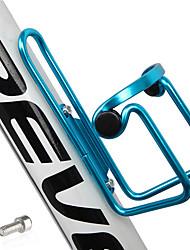Недорогие -Бутылку воды клеткой Компактность, Устойчивый к деформации, Прочный На открытом воздухе / Велоспорт Aluminum Alloy Черный / Красный / Синий - 1 pcs
