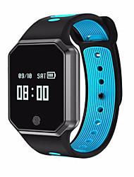 Недорогие -Смарт Часы QW11 для Android 4.3 и выше / iOS 7 и выше Пульсомер / Водонепроницаемый / Измерение кровяного давления / GPS / Длительное время ожидания / Хендс-фри звонки / Таймер / Напоминание о звонке