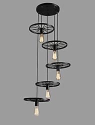 billiga -5-Light Mini Hängande lampor Glödande - Ministil, 110-120V / 220-240V Glödlampa inte inkluderad