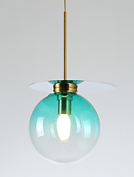 cheap -ZHISHU Geometric / Mini / Novelty Pendant Light Ambient Light - New Design, Creative, 110-120V / 220-240V Bulb Included