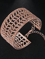 Χαμηλού Κόστους Χειροπέδες-Γυναικεία Βραχιόλια Χειροπέδες Βραχιόλια - Ευρωπαϊκό, Μοντέρνα Βραχιόλια Χρυσό Για Γάμου Καθημερινά