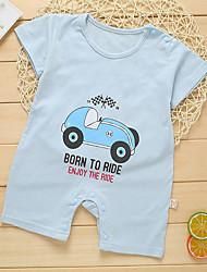 お買い得  -赤ちゃん 男の子 プリント 半袖 ワンピース