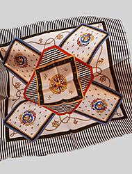 economico -Per donna Retato Quadrata A strisce / Fantasia geometrica / Monocolore